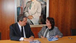 Firma Convenio Fundación San Rafael y Deportivo