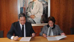 Convenio Fundación San Rafael y Deportivo