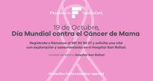 Día mundial contra el Cáncer de mama FB