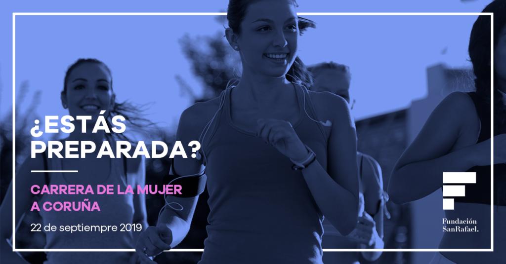 La Fundación San Rafael también estará en la Carrera de la Mujer