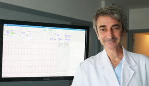 Doctor Gonzalo Peña, cardiólogo del Hospital San Rafael