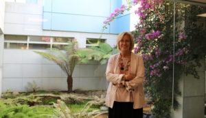 La psicóloga Nieves Rey Aguirre en el Hospital San Rafael