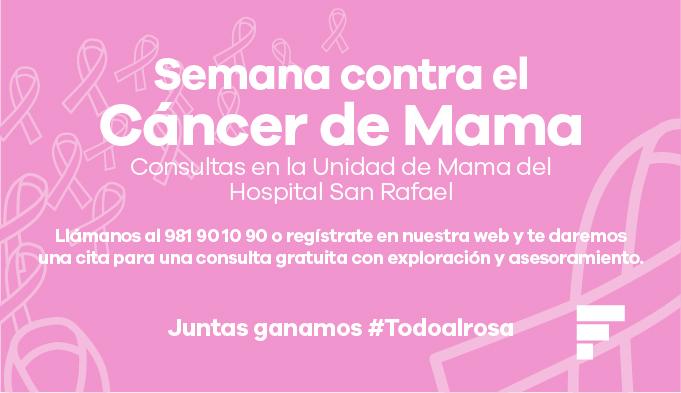 Consultas gratuitas y prevención para combatir el cáncer de mama