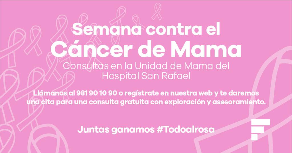 Consultas gratuitas de mama para prevenir el cáncer