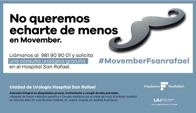 El equipo Movember San Rafael, de nuevo en marcha