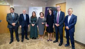 Foto de familia de la entrega del XXVI Premio Rafael Hervada