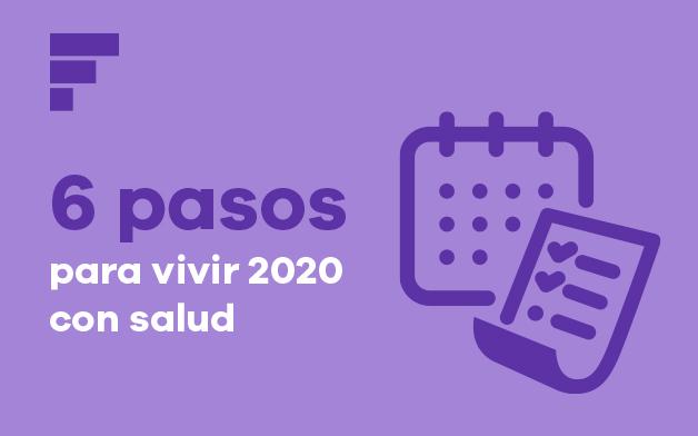 6 pasos para mejorar tu salud en 2020