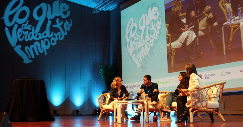 Dolores Estrada, con Davide Morana