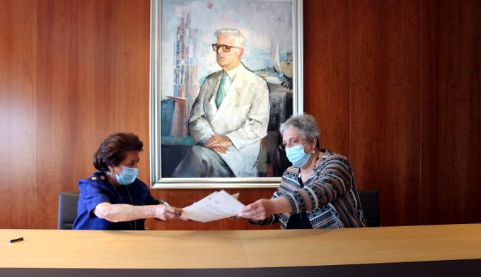 Fundación San Rafael y Afaco firman un convenio para hacer frente juntas al Alzheimer