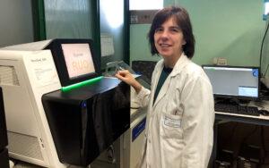 La Dra. María Isidoro, investigadora ganadora del XXVI Premio Rafael Hervada a la Investigación Biomédica.
