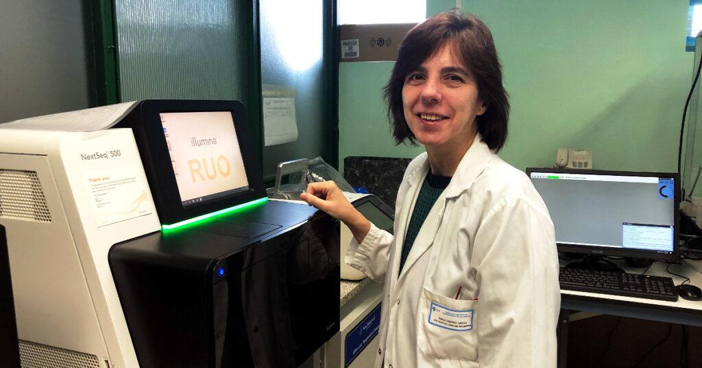 La Dra. María Isidoro, ganadora del XXVI Premio Rafael Hervada a la Investigación Biomédica